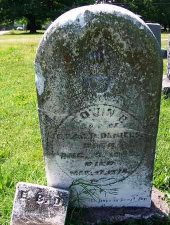DANIELS, EDWIN B - St. Clair County, Missouri   EDWIN B DANIELS - Missouri Gravestone Photos