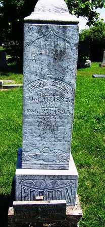 GORDON, JOHN P (VETERAN CSA) - St. Clair County, Missouri   JOHN P (VETERAN CSA) GORDON - Missouri Gravestone Photos