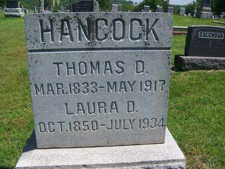 HANCOCK, LAURA - St. Clair County, Missouri | LAURA HANCOCK - Missouri Gravestone Photos