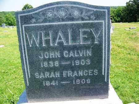 WHALEY, SARAH FRANCES - St. Clair County, Missouri | SARAH FRANCES WHALEY - Missouri Gravestone Photos