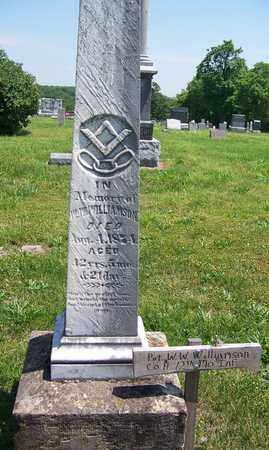 WILLIAMSON, WILLIAM W (VETERAN CSA) - St. Clair County, Missouri | WILLIAM W (VETERAN CSA) WILLIAMSON - Missouri Gravestone Photos