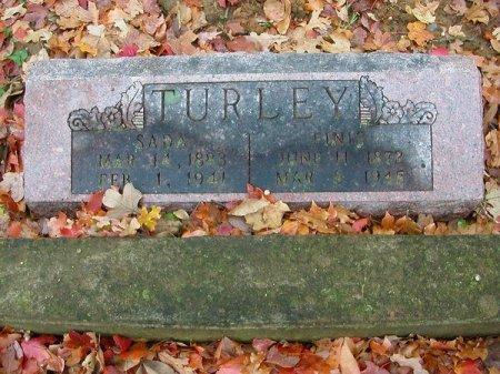 TURLEY, FINIS - St. Francois County, Missouri | FINIS TURLEY - Missouri Gravestone Photos