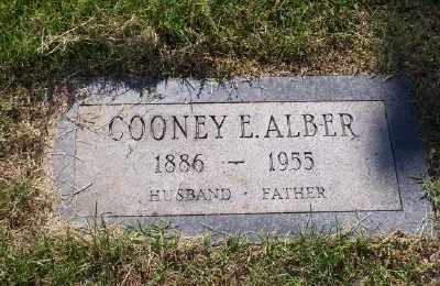 ALBER, COONEY E - St. Louis County, Missouri   COONEY E ALBER - Missouri Gravestone Photos