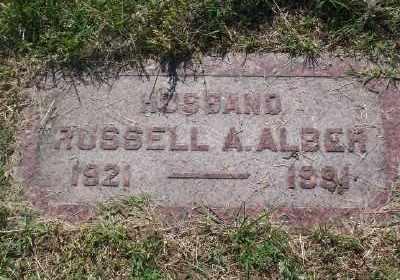 ALBERT, RUSSELL A - St. Louis County, Missouri | RUSSELL A ALBERT - Missouri Gravestone Photos