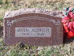 ALDRICH, IRVEN - St. Louis County, Missouri | IRVEN ALDRICH - Missouri Gravestone Photos