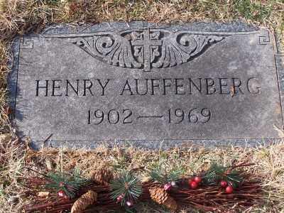 AUFFENBERG, HENRY - St. Louis County, Missouri | HENRY AUFFENBERG - Missouri Gravestone Photos
