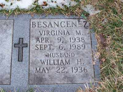 BESANCENEZ, VIRGINIA M - St. Louis County, Missouri | VIRGINIA M BESANCENEZ - Missouri Gravestone Photos