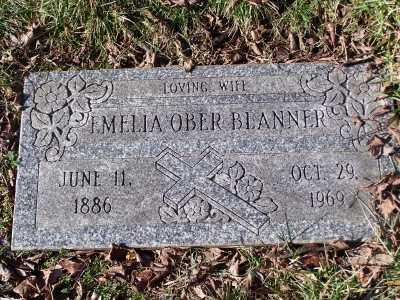 OBER BLANNER, EMELIA - St. Louis County, Missouri   EMELIA OBER BLANNER - Missouri Gravestone Photos