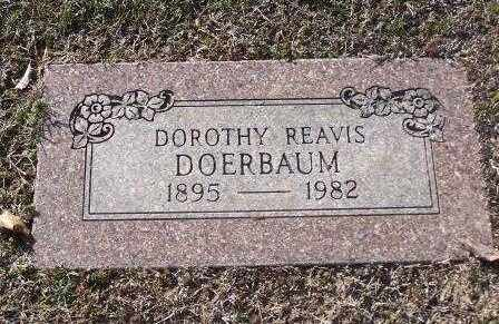REAVIS DOERBAUM, DOROTHY - St. Louis County, Missouri | DOROTHY REAVIS DOERBAUM - Missouri Gravestone Photos