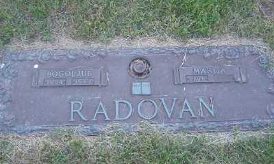 RADOVAN, BOGOLJUB - St. Louis County, Missouri | BOGOLJUB RADOVAN - Missouri Gravestone Photos