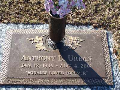 URBAN, ANTHONY L - St. Louis County, Missouri | ANTHONY L URBAN - Missouri Gravestone Photos