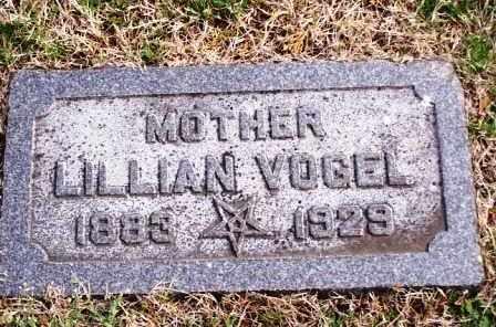 VOGEL, LILLIAN - St. Louis County, Missouri   LILLIAN VOGEL - Missouri Gravestone Photos
