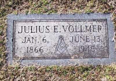 VOLLMER, JULIUS E - St. Louis County, Missouri | JULIUS E VOLLMER - Missouri Gravestone Photos