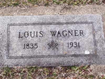 WAGNER, LOUIS - St. Louis County, Missouri | LOUIS WAGNER - Missouri Gravestone Photos