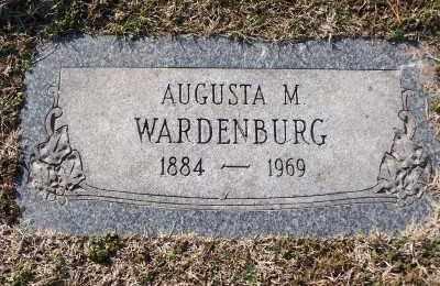 WARDENBURG, AUGUSTA M - St. Louis County, Missouri | AUGUSTA M WARDENBURG - Missouri Gravestone Photos
