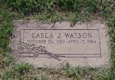 WATSON, CARLA J - St. Louis County, Missouri | CARLA J WATSON - Missouri Gravestone Photos
