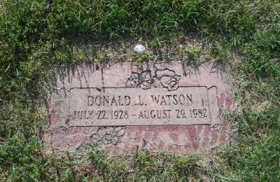 WATSON, DONALD L - St. Louis County, Missouri | DONALD L WATSON - Missouri Gravestone Photos