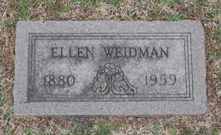 WEIDMAN, ELLEN - St. Louis County, Missouri | ELLEN WEIDMAN - Missouri Gravestone Photos