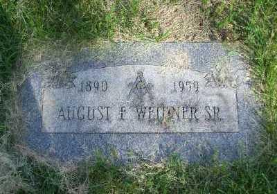 WEIDNER SR, AUGUST F - St. Louis County, Missouri | AUGUST F WEIDNER SR - Missouri Gravestone Photos