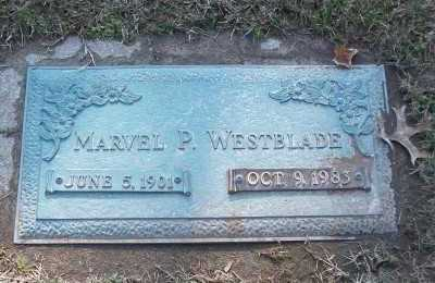 WESTBLADE, MARVEL P - St. Louis County, Missouri | MARVEL P WESTBLADE - Missouri Gravestone Photos