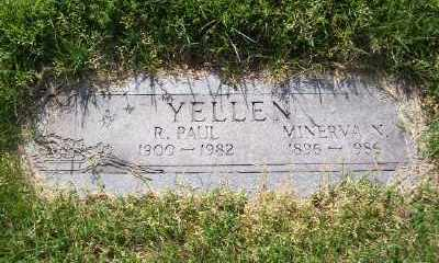 YELLEN, R PAUL - St. Louis County, Missouri | R PAUL YELLEN - Missouri Gravestone Photos