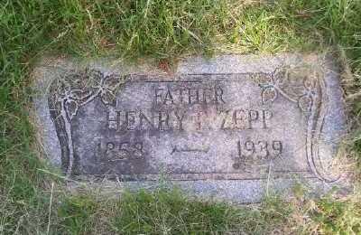 ZEPP, HENRY R - St. Louis County, Missouri | HENRY R ZEPP - Missouri Gravestone Photos