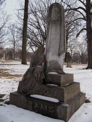 ABRAMS, ELIZABETH - St. Louis City County, Missouri | ELIZABETH ABRAMS - Missouri Gravestone Photos