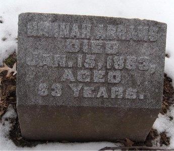 ABRAMS, HANNAH - St. Louis City County, Missouri | HANNAH ABRAMS - Missouri Gravestone Photos
