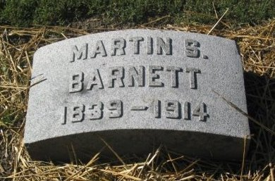 BARNETT, MARTIN S . VETERAN - St. Louis City County, Missouri | MARTIN S . VETERAN BARNETT - Missouri Gravestone Photos