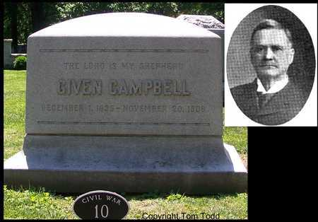 CAMPBELL, GIVEN - St. Louis City County, Missouri | GIVEN CAMPBELL - Missouri Gravestone Photos