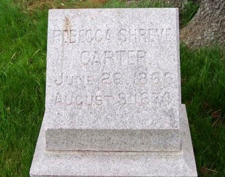CARTER, REBECCA - St. Louis City County, Missouri | REBECCA CARTER - Missouri Gravestone Photos