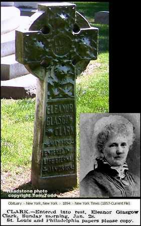 GLASGOW CLARK, ELEANOR ANN - St. Louis City County, Missouri | ELEANOR ANN GLASGOW CLARK - Missouri Gravestone Photos