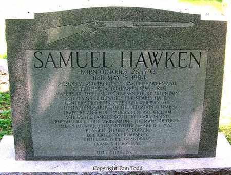 HAWKEN, SAMUEL - St. Louis City County, Missouri | SAMUEL HAWKEN - Missouri Gravestone Photos