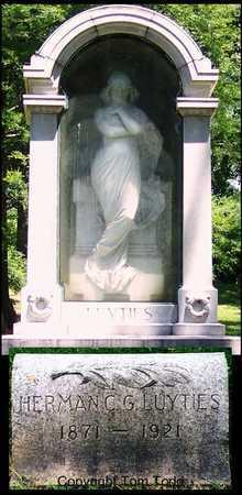 LUYTIES, HERMAN C. G. - St. Louis City County, Missouri | HERMAN C. G. LUYTIES - Missouri Gravestone Photos