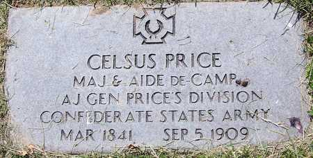 PRICE, CELSUS (VETERAN CSA) - St. Louis City County, Missouri | CELSUS (VETERAN CSA) PRICE - Missouri Gravestone Photos