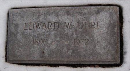 UHRI, EDWARD W - St. Louis City County, Missouri   EDWARD W UHRI - Missouri Gravestone Photos