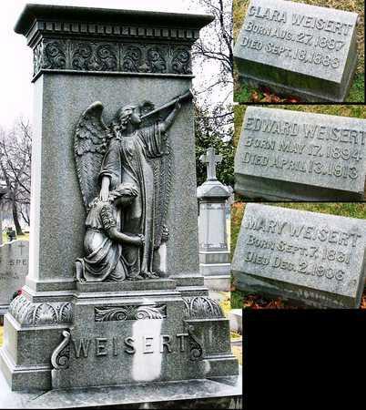 WEISERT, MARY - St. Louis City County, Missouri   MARY WEISERT - Missouri Gravestone Photos