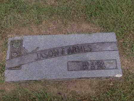 ARMES, JASON FELIX - Stoddard County, Missouri   JASON FELIX ARMES - Missouri Gravestone Photos