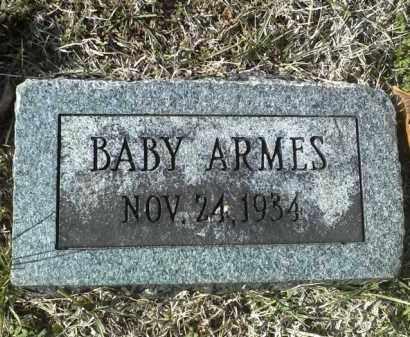 ARMES, BABY - Stoddard County, Missouri   BABY ARMES - Missouri Gravestone Photos