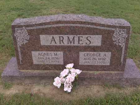 ARMES, GEORGE A - Stoddard County, Missouri | GEORGE A ARMES - Missouri Gravestone Photos