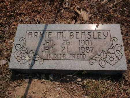 BEASLEY, ARKIE M - Stone County, Missouri | ARKIE M BEASLEY - Missouri Gravestone Photos