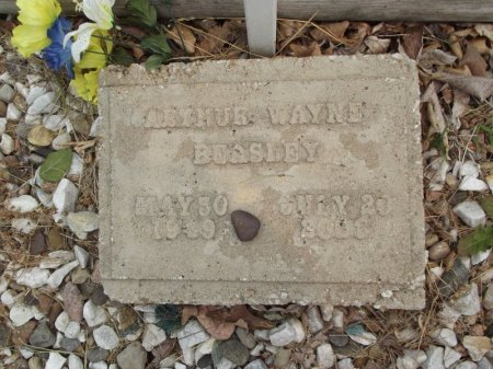 BEASLEY, ARTHUR WAYNE - Stone County, Missouri | ARTHUR WAYNE BEASLEY - Missouri Gravestone Photos