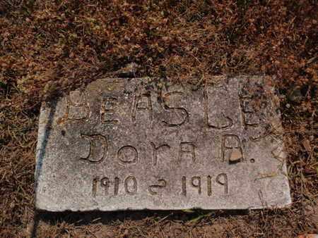 BEASLEY, DORA A - Stone County, Missouri | DORA A BEASLEY - Missouri Gravestone Photos