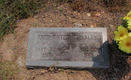 BEASLEY, EXIE ESTER - Stone County, Missouri   EXIE ESTER BEASLEY - Missouri Gravestone Photos