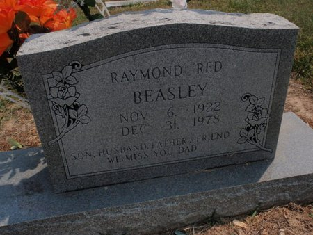 BEASLEY, RAYMOND RED - Stone County, Missouri | RAYMOND RED BEASLEY - Missouri Gravestone Photos