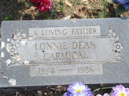 CARMICAL, LONNIE DEAN - Stone County, Missouri | LONNIE DEAN CARMICAL - Missouri Gravestone Photos