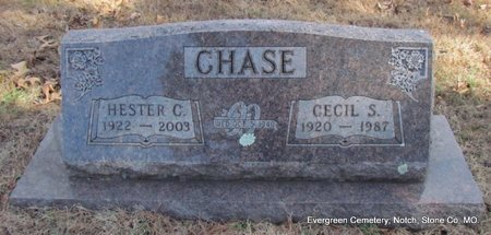 CHASE, HESTER CLEO - Stone County, Missouri | HESTER CLEO CHASE - Missouri Gravestone Photos