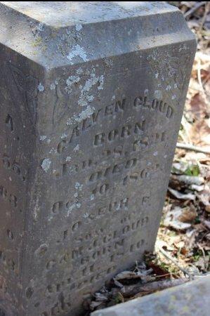 CLOUD, JOSEPH FRANKLIN - Stone County, Missouri | JOSEPH FRANKLIN CLOUD - Missouri Gravestone Photos