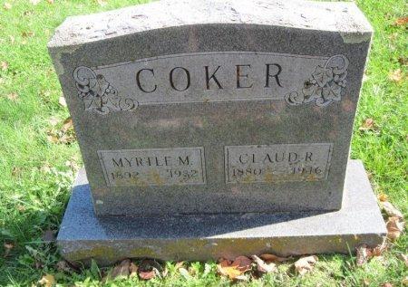 COKER, CLAUD ROBERT - Stone County, Missouri | CLAUD ROBERT COKER - Missouri Gravestone Photos