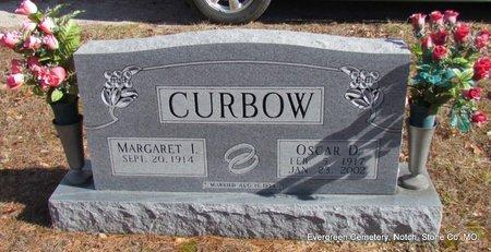 CURBOW, OSCAR D - Stone County, Missouri | OSCAR D CURBOW - Missouri Gravestone Photos